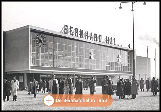 Oplevering Bernardhal in 1953